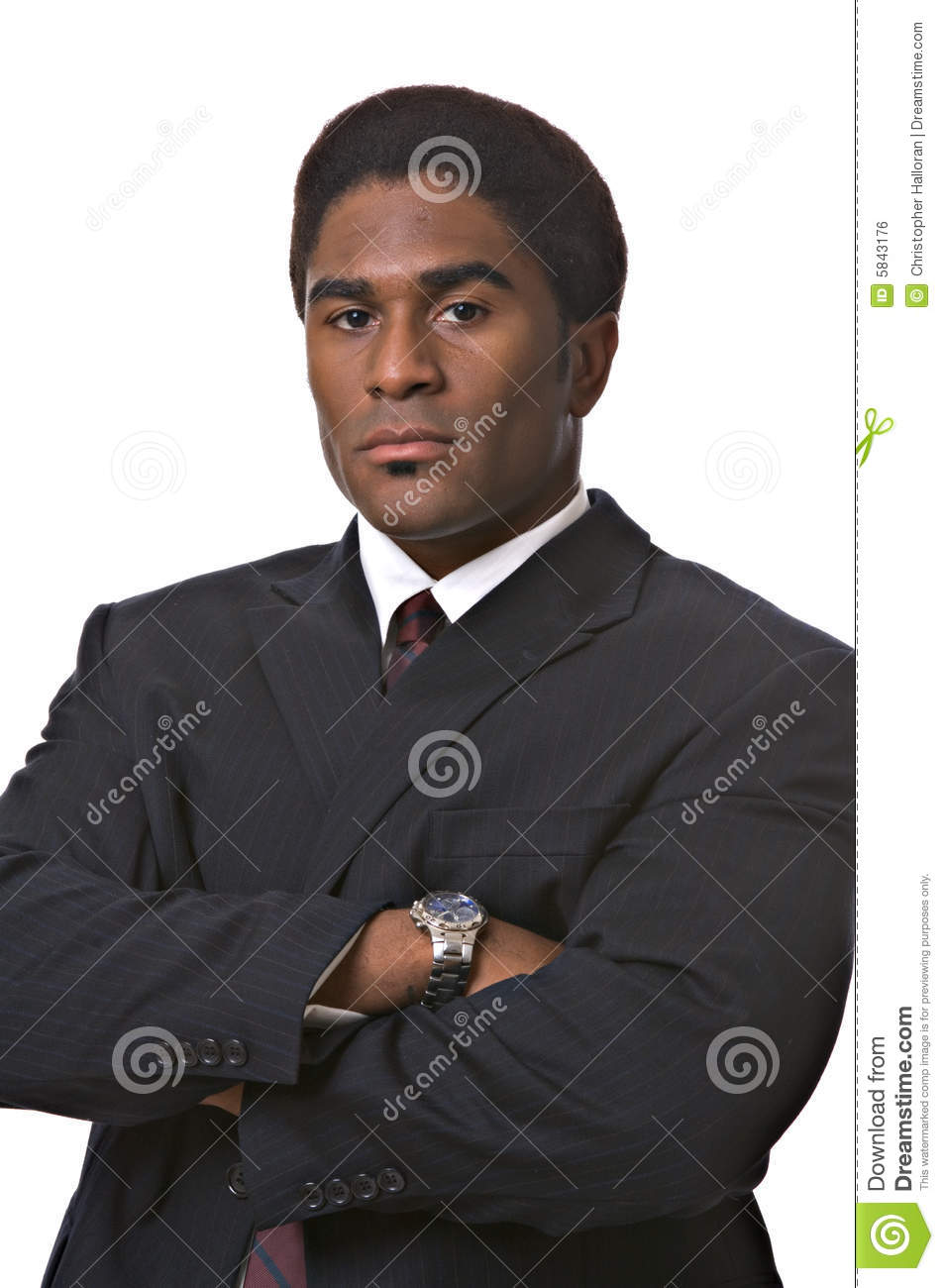 African-American businessman