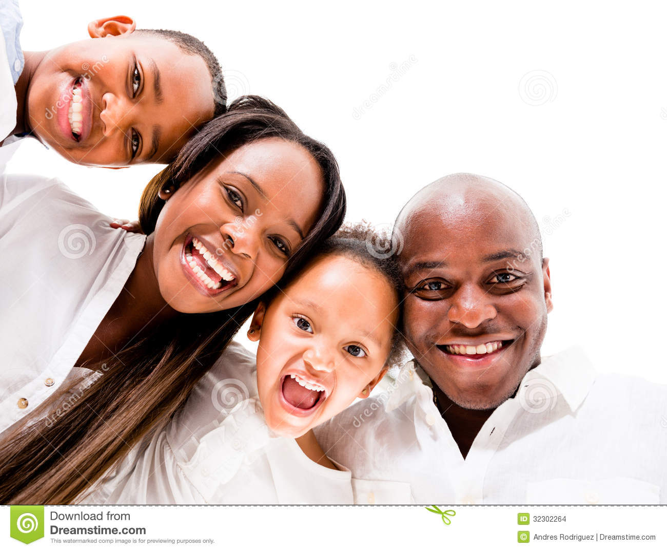 African American Family Stock Images Image 32302264