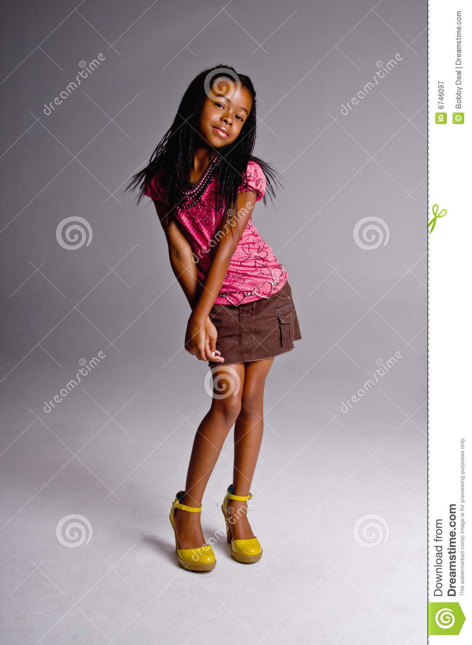 African American Girl Fashion Dress Images Download