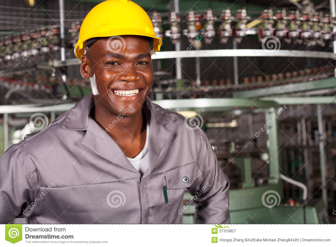 African Construction Worker Royalty Free Stock Image Image 31348786 - African american industrial worker royalty free