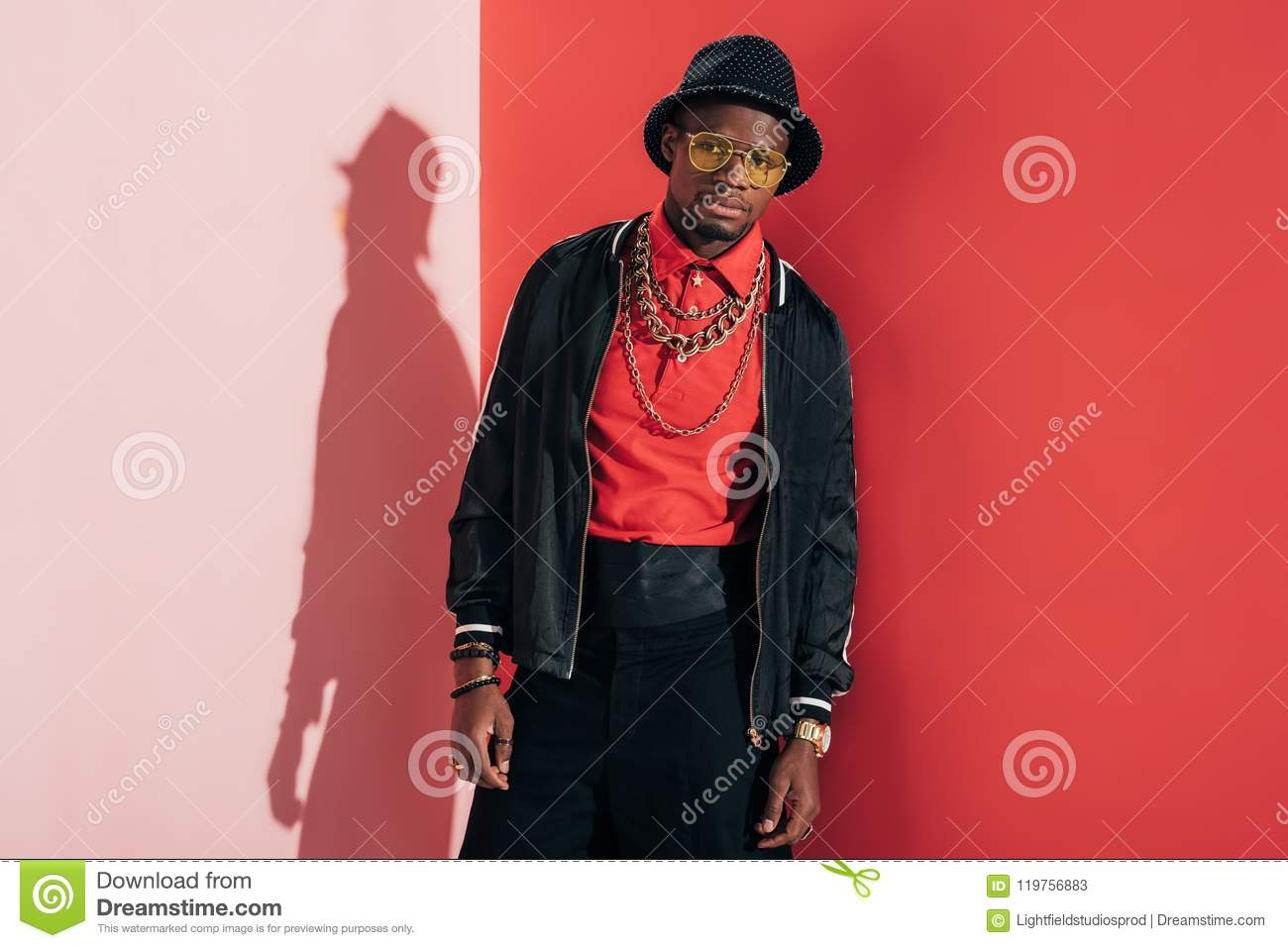 African American Man In Hat f6c00e6fdc69