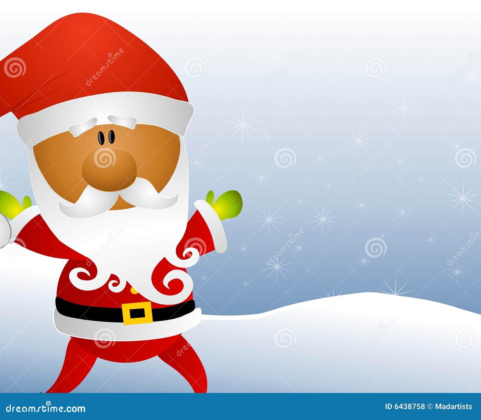 African American Santa Claus Stock Illustration ...