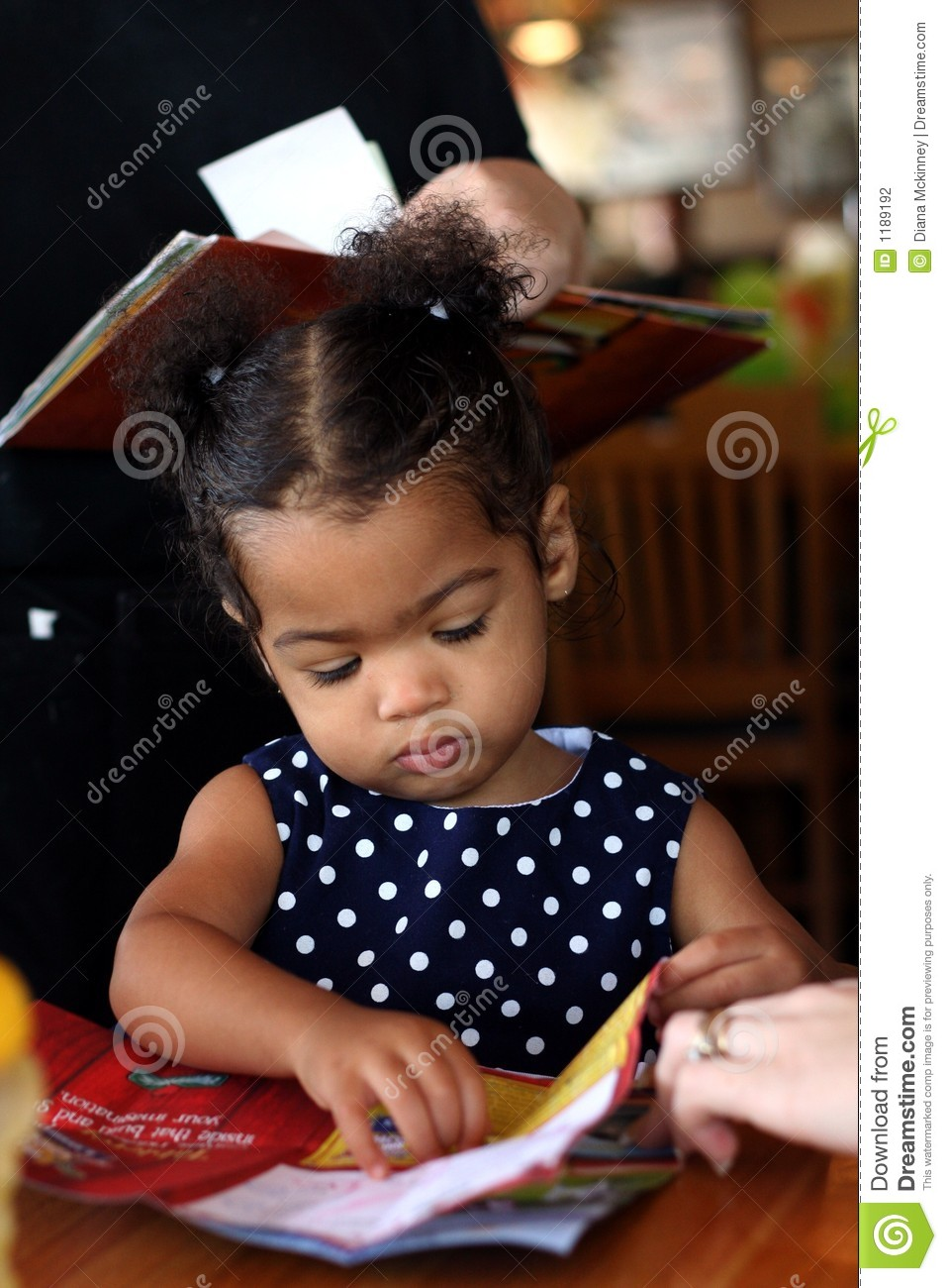 africanamerican toddler female stock photo image 1189192