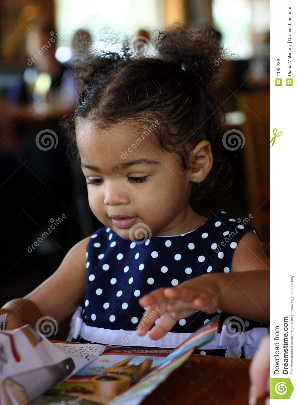 African American Toddler Female Royalty Free Stock Images