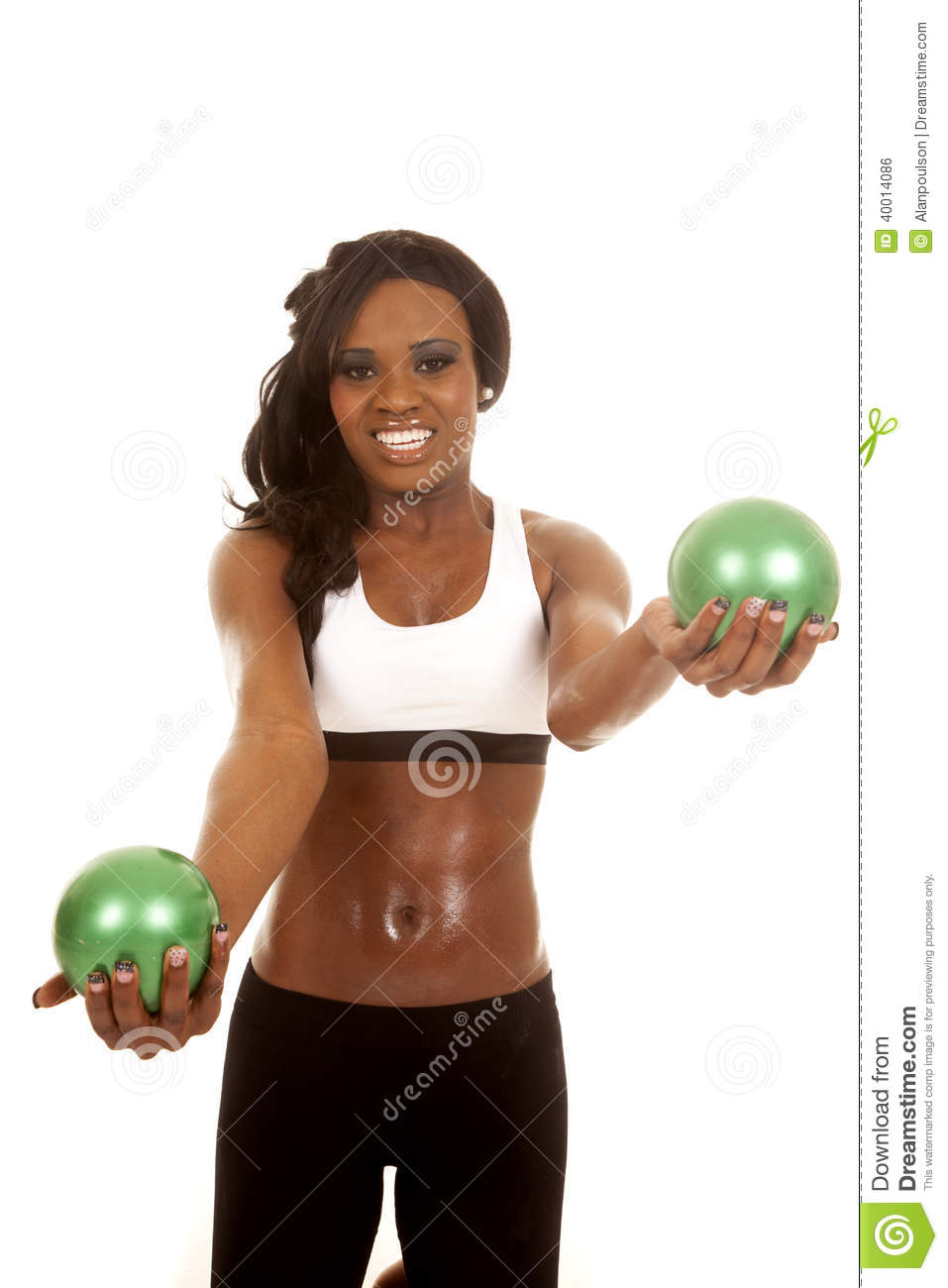Balls With American Flags Of Nations Stock Image ...