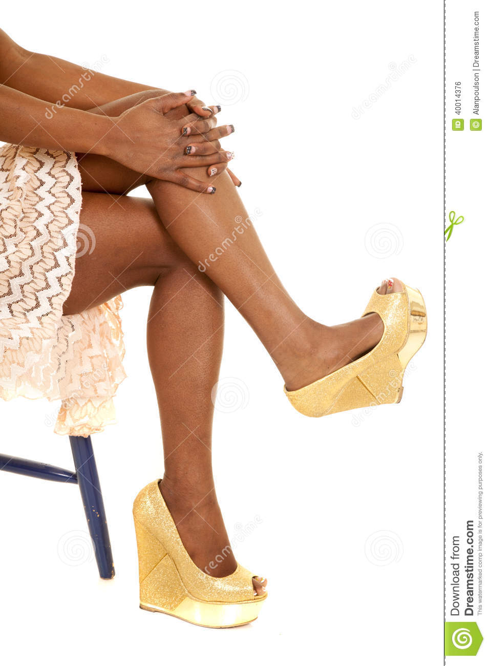 from Paxton african american legs in heels