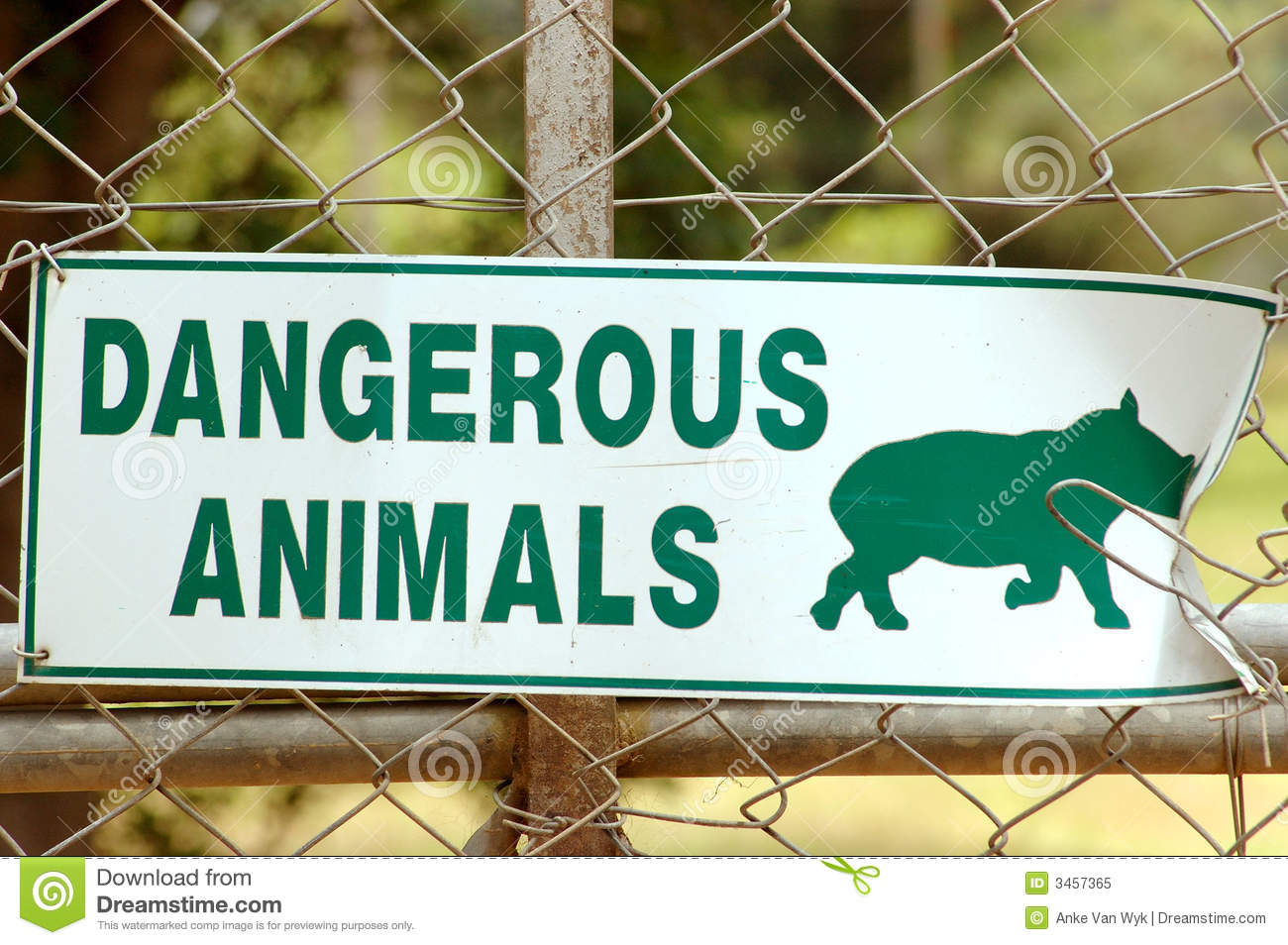 african animal sign royalty free stock photo