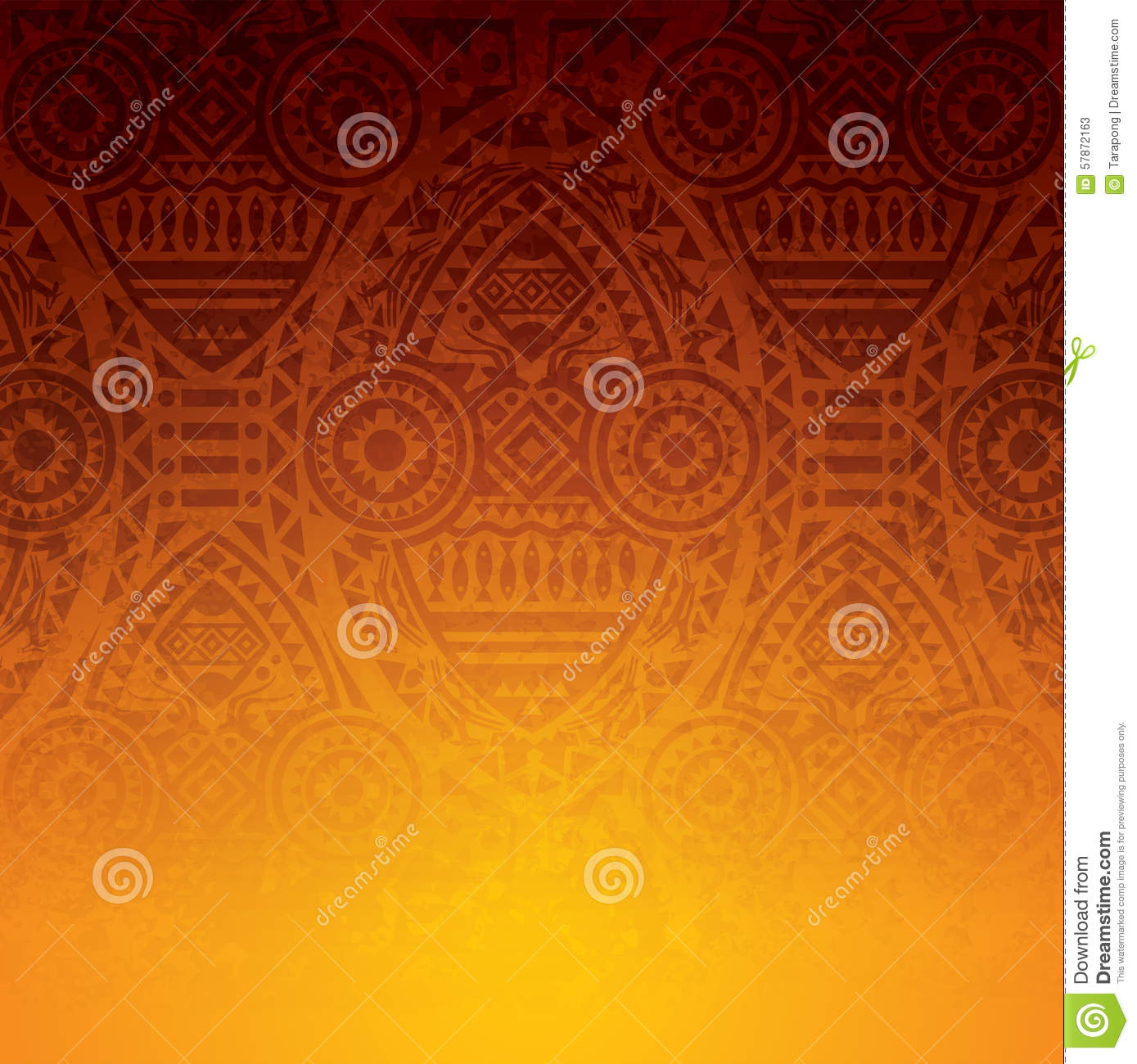 Book Cover Illustration Rates : African art background design stock vector image