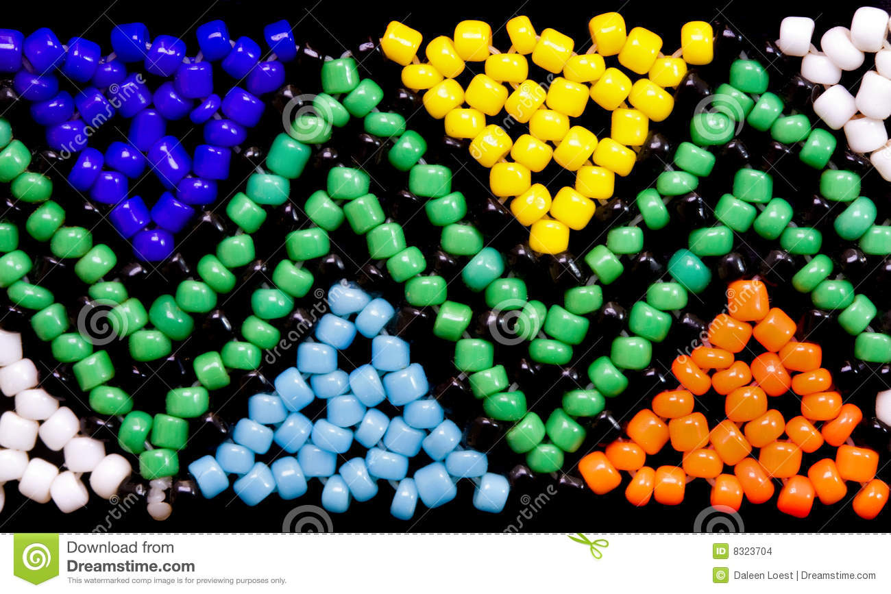 African bead work stock photo. Image of ethnic, african - 8323704