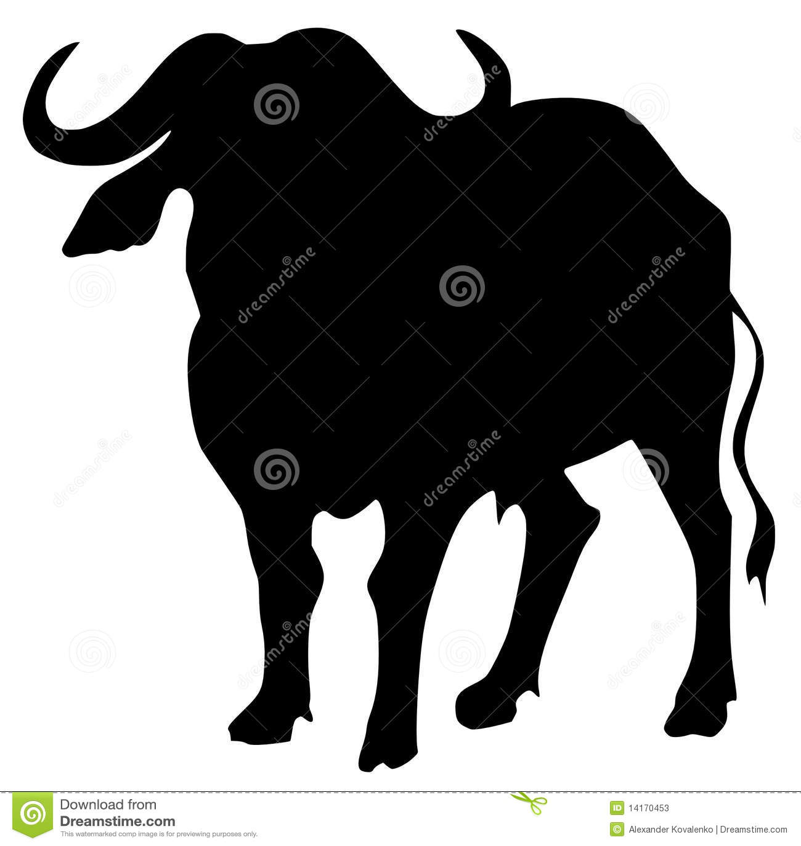 African Buffalo Stock Vector Illustration Of Buffalo