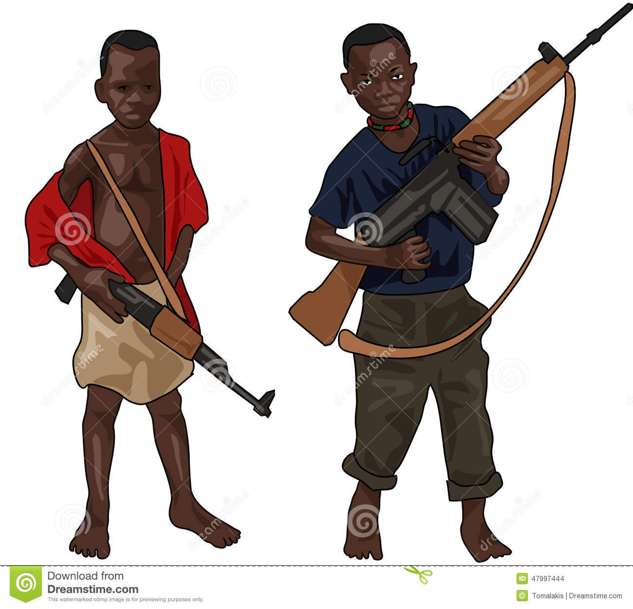 Children soldiers in africa essay