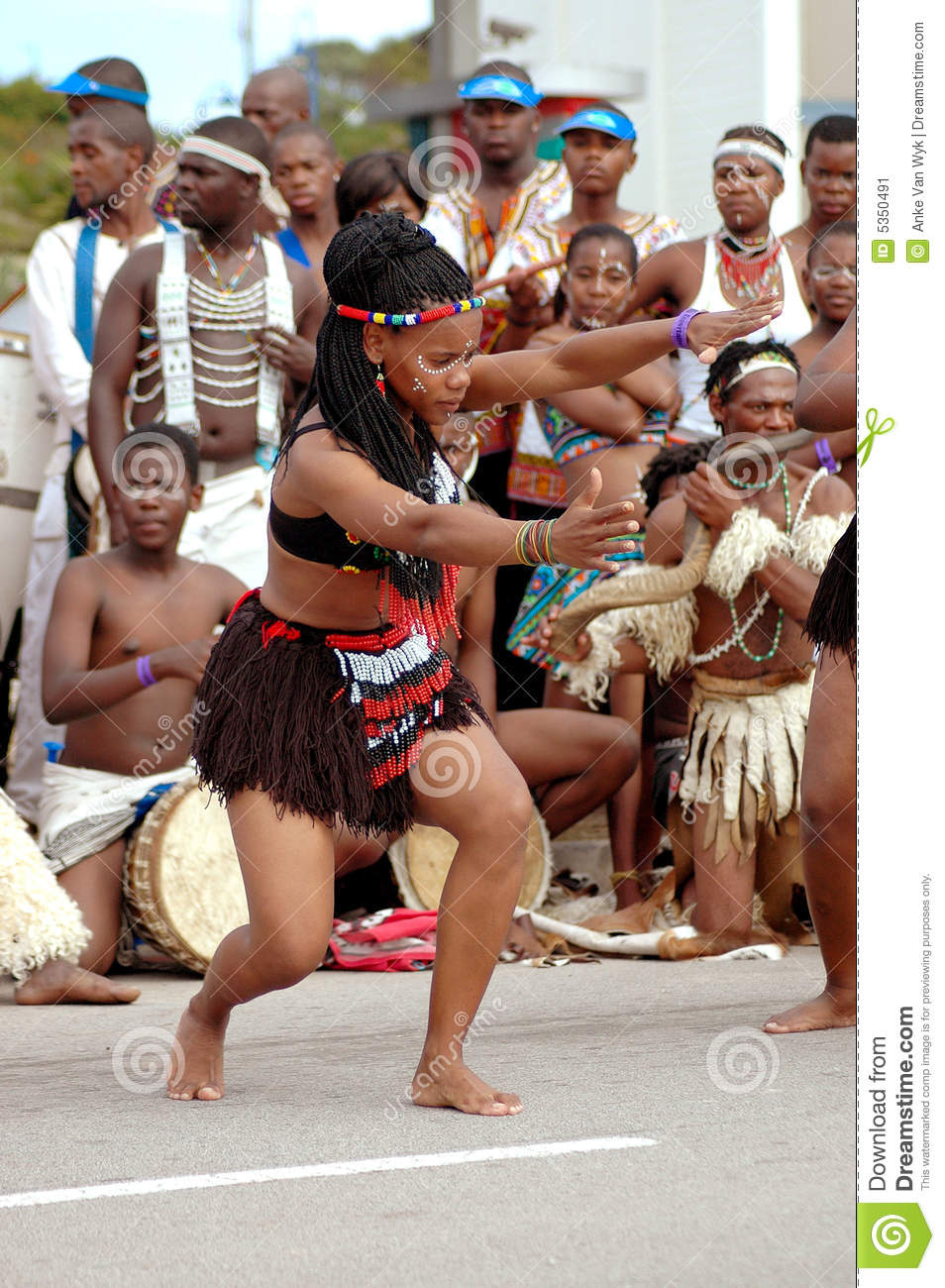 the history of the african dance