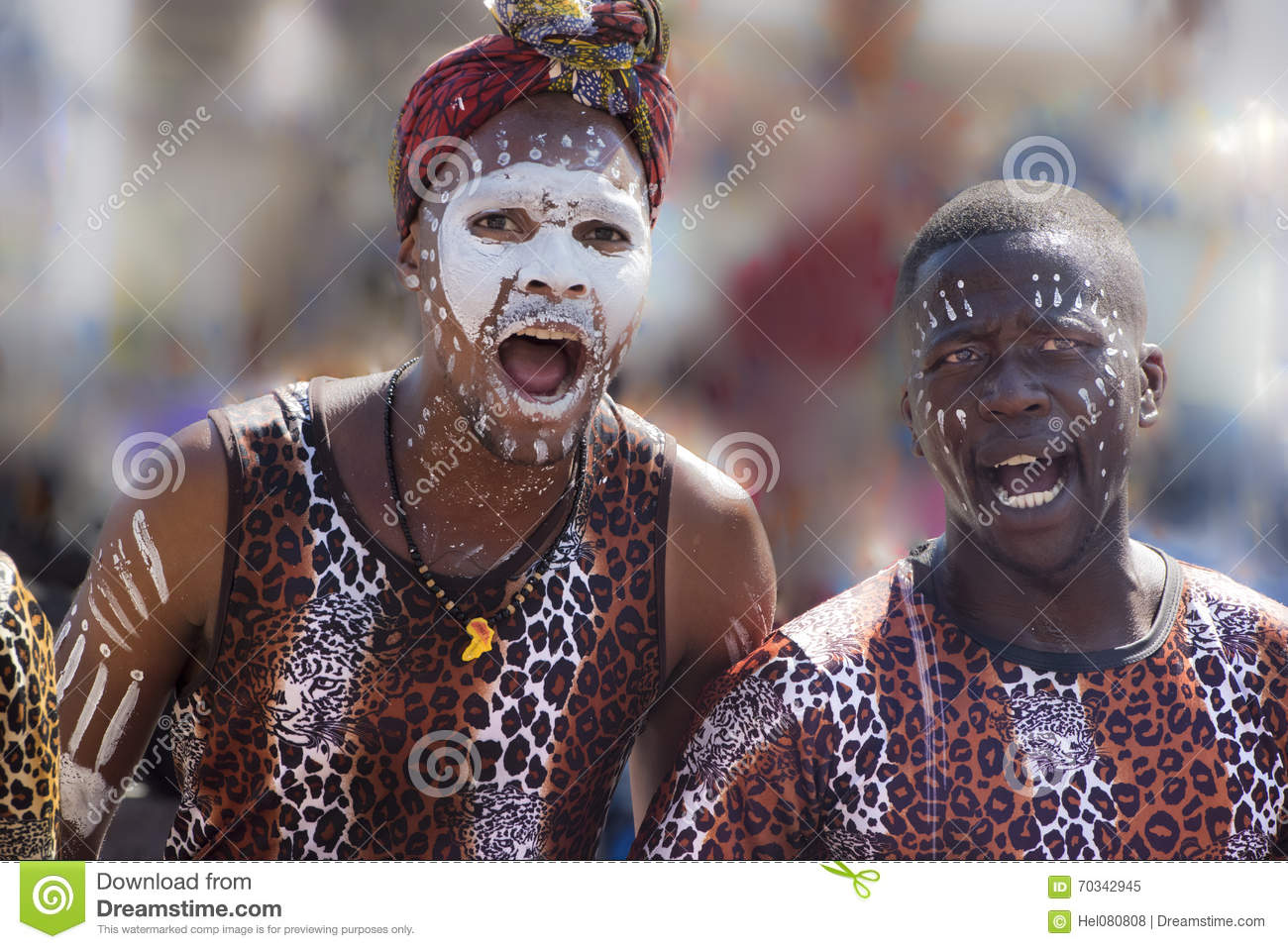 African Dancers, African band, singing and dancing