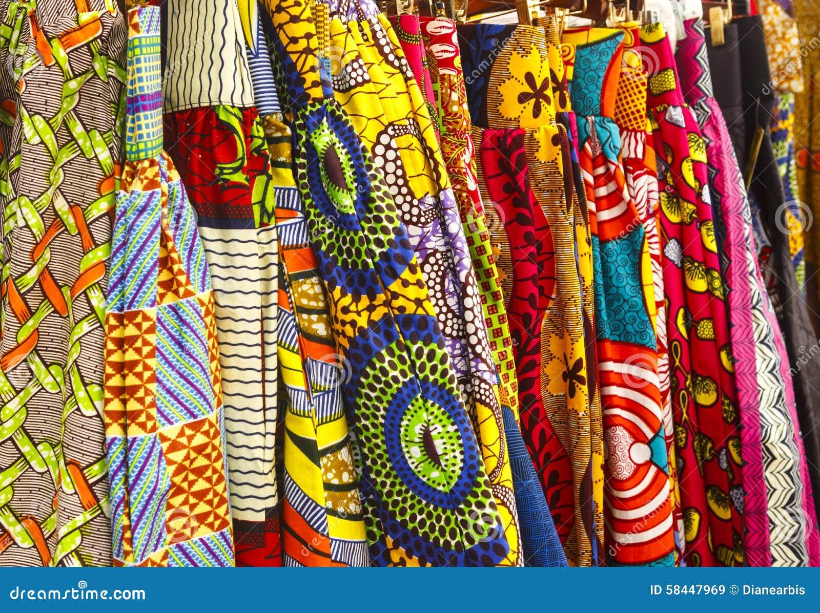 African Fabric Stock Image. Image Of Horizontal, Design