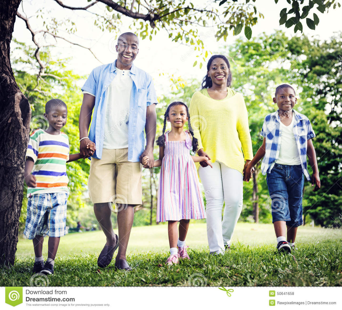 Download African Family Happiness Holiday Vacation Activity Concept Stock Photo - Image of activity, cheerful: 50641658