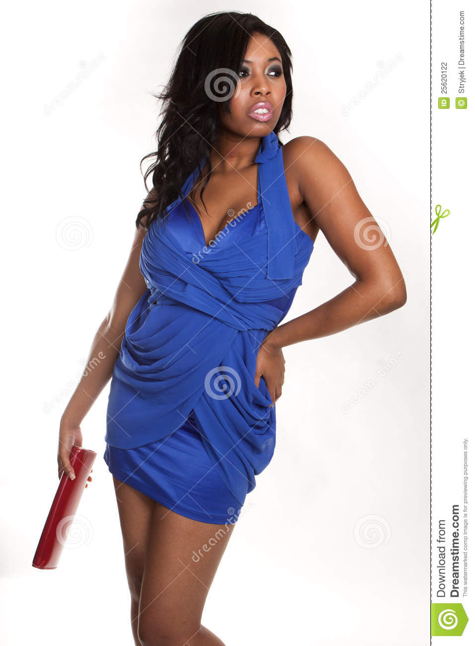 African Fashion Model Stock Photography Image 25620122