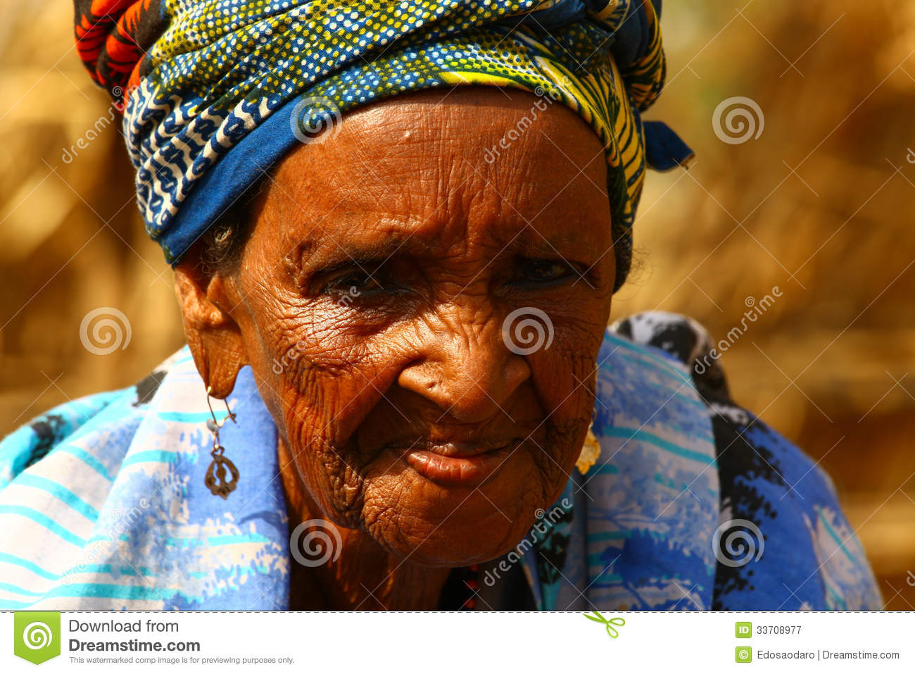 Old African Grandma Editorial Photography Image 33708977
