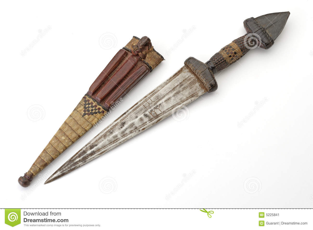 African knife