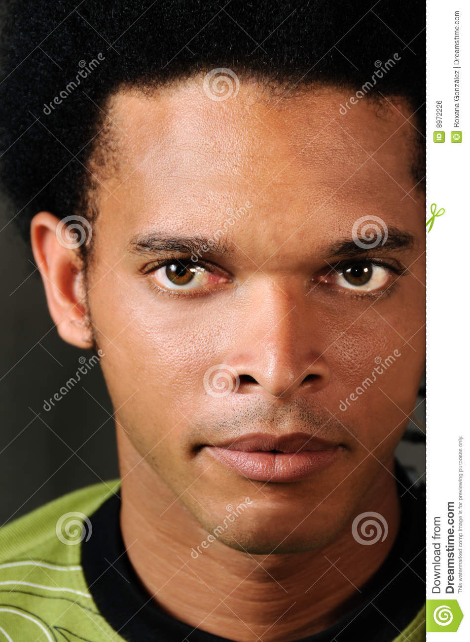 African Male Face Royalty Free Stock Image Image 8972226