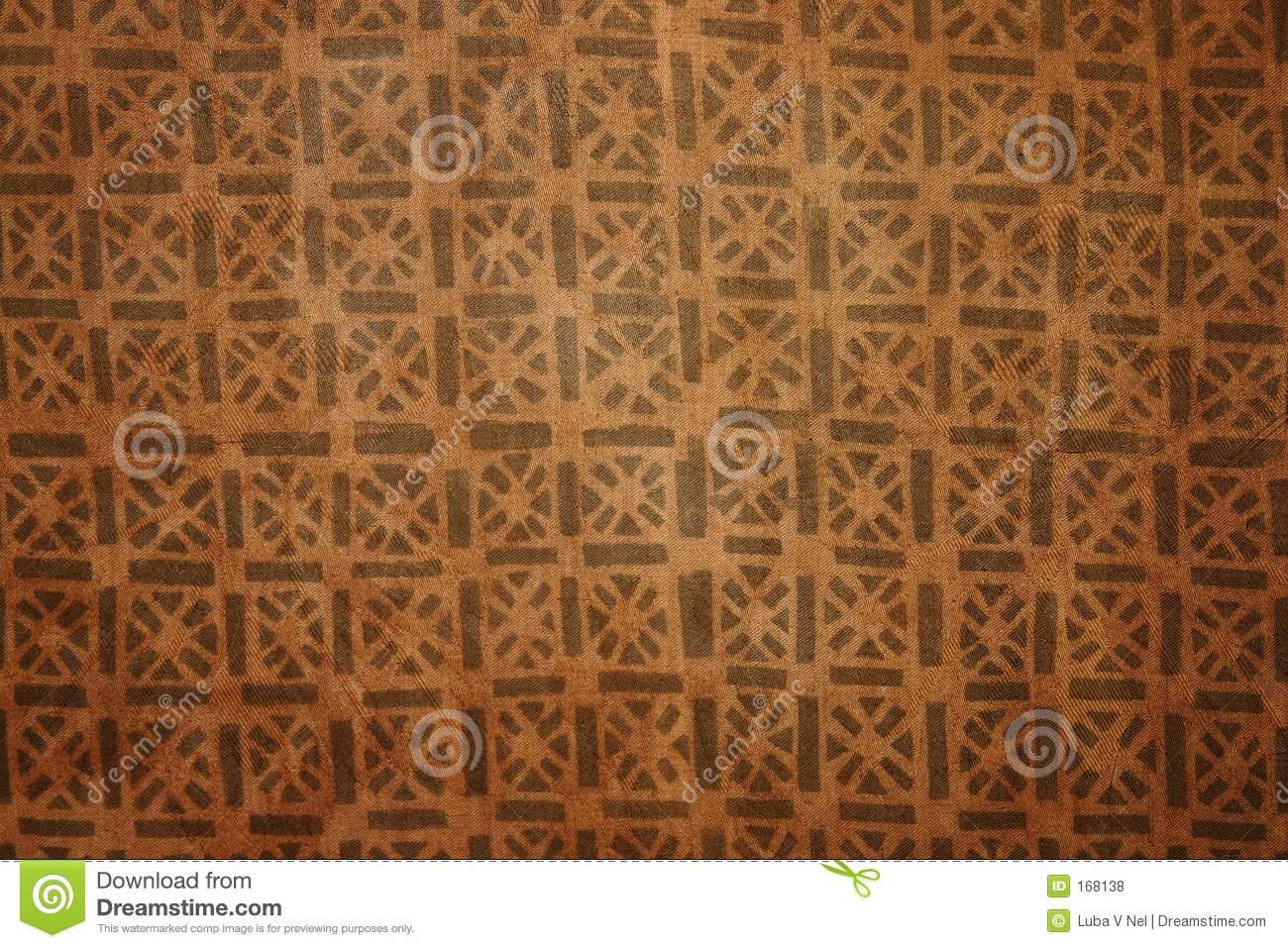 African material pattern