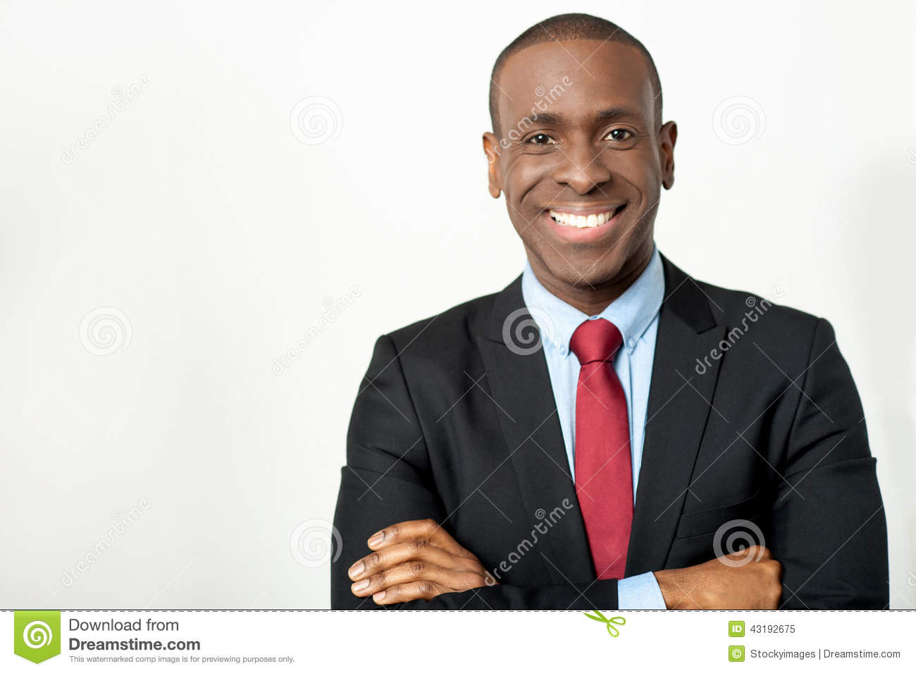 African Middle Aged Business Executive Stock Image ...