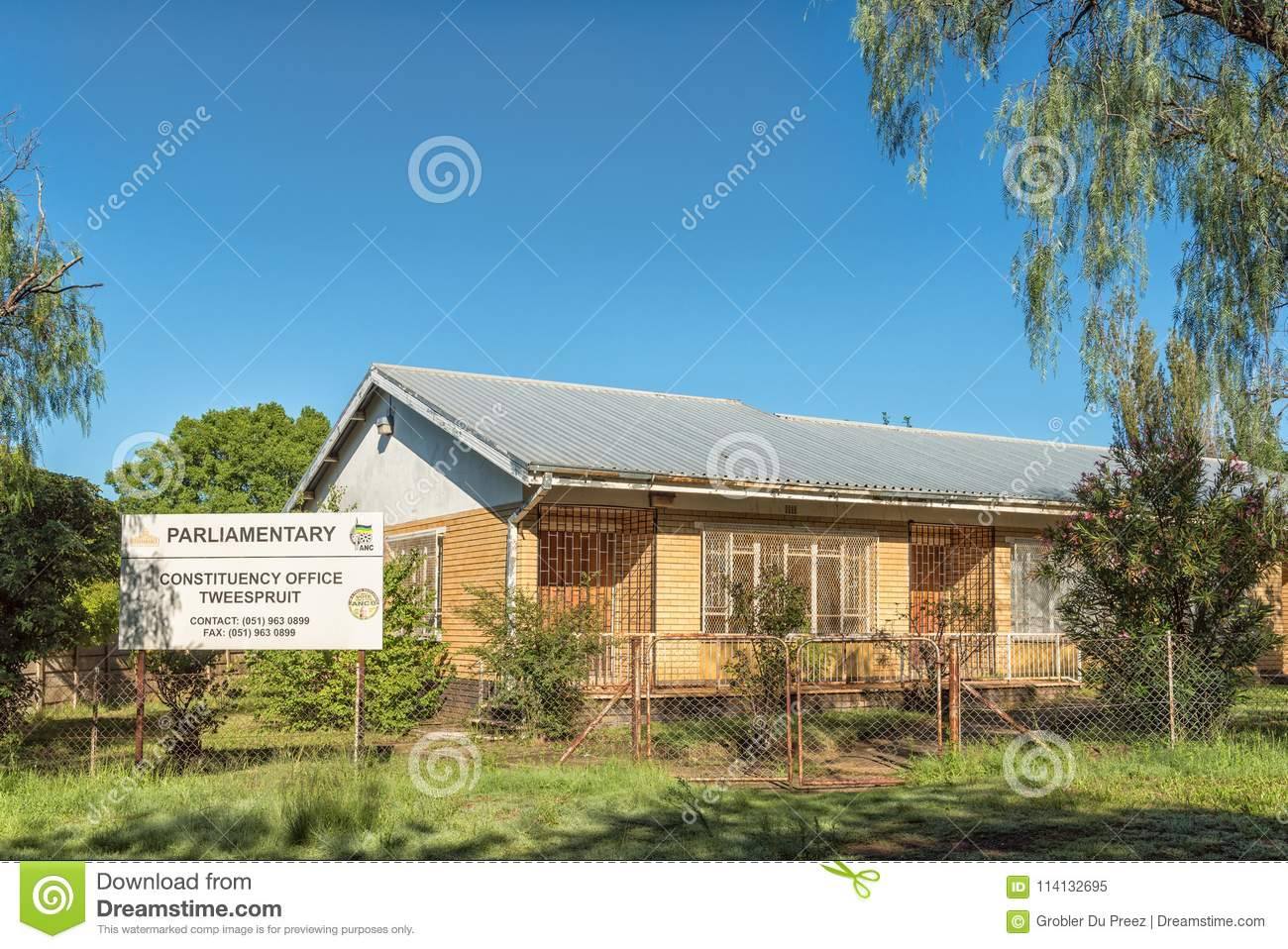 African National Congress parliamentary constituency office in T