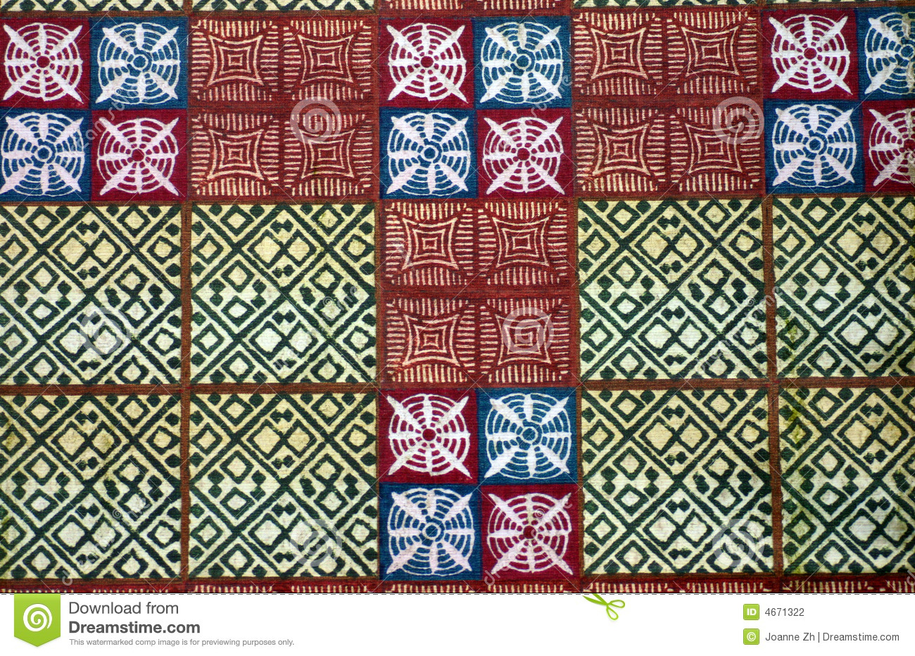 African Native Cloth Fabric Stock Photography Image 4671322