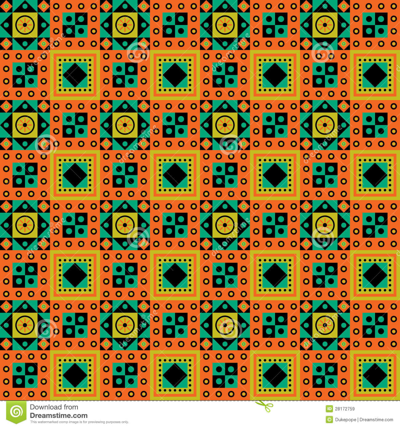 African Pattern Design Royalty Free Stock Images - Image