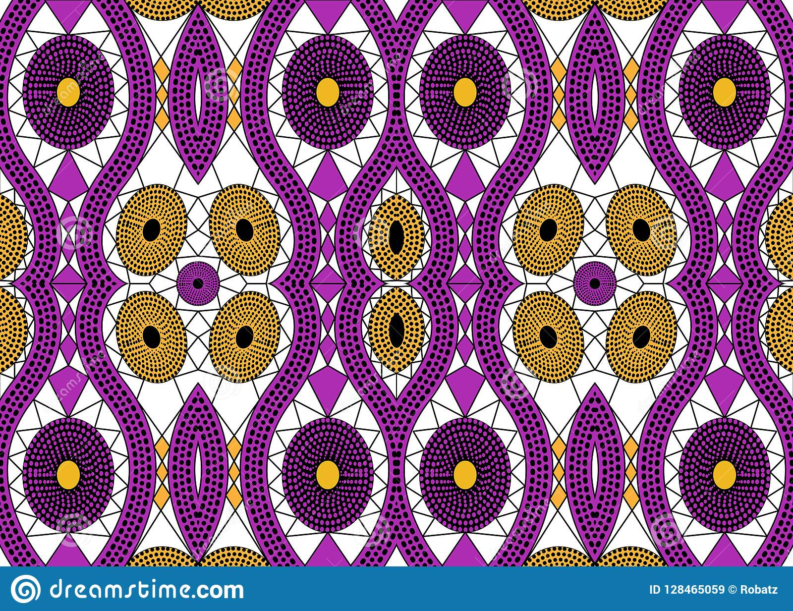 d61f81cd2c3d Royalty-Free Stock Photo. African Print fabric