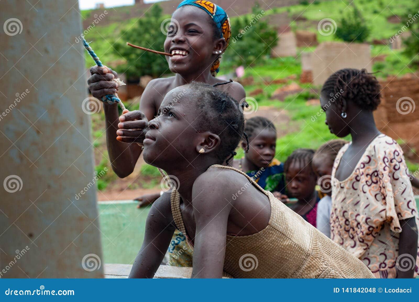 African Rudimentary Well Near Bamako Editorial Stock Photo Image Of Life Famine 141842048