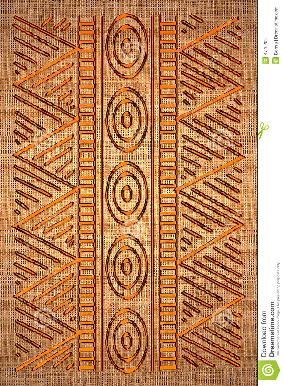 African Rug Stock Illustration Illustration Of Canvas