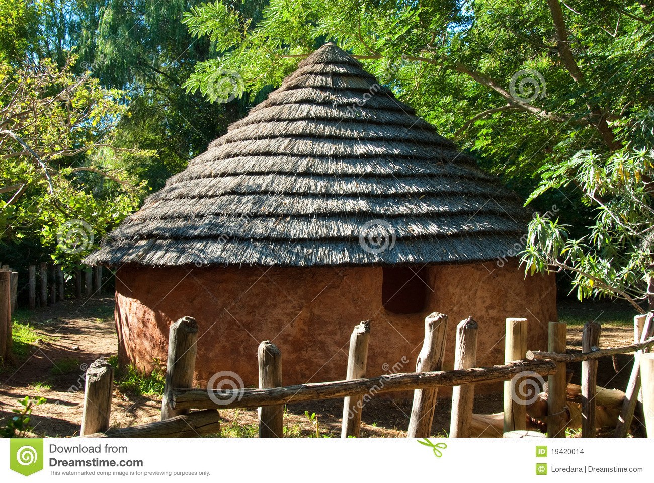 african soil house stock photo image of huts development