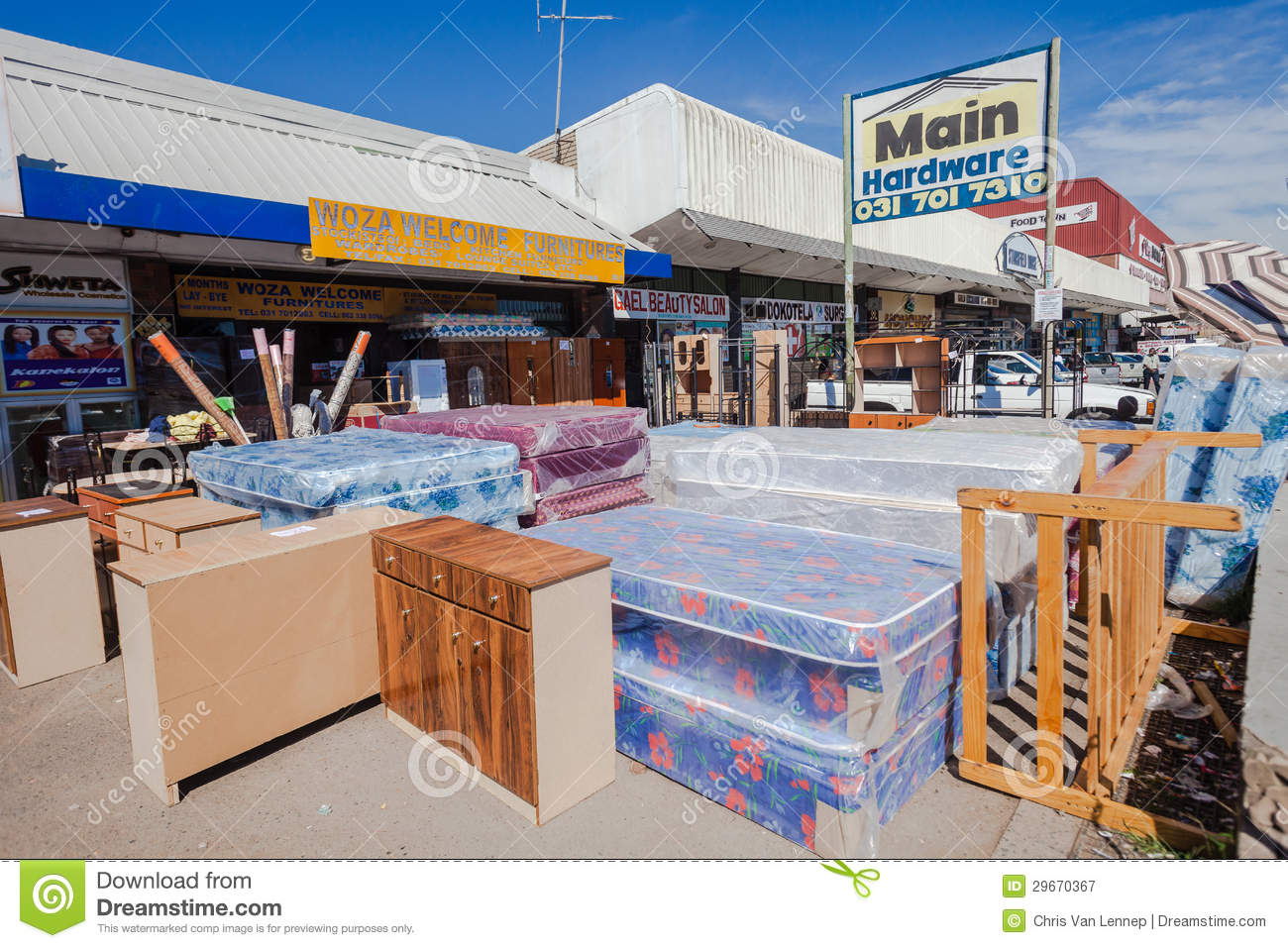 Download African Street Furniture Stores Editorial Photography   Image Of  Stores, Colors: 29670367