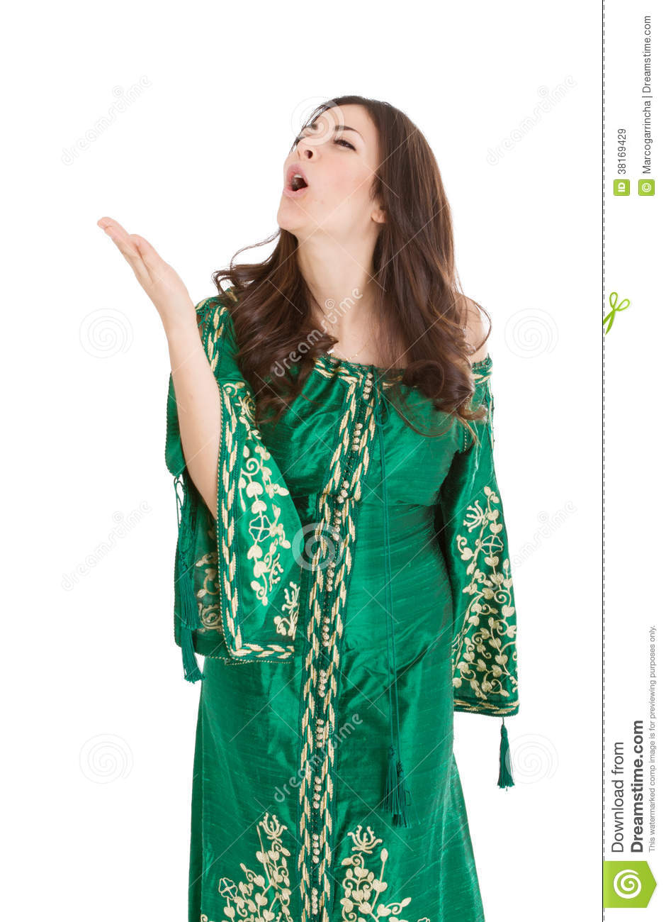 African Traditional Dress In Offensive Face Royalty Free Stock Images ... Angry Black Woman Face