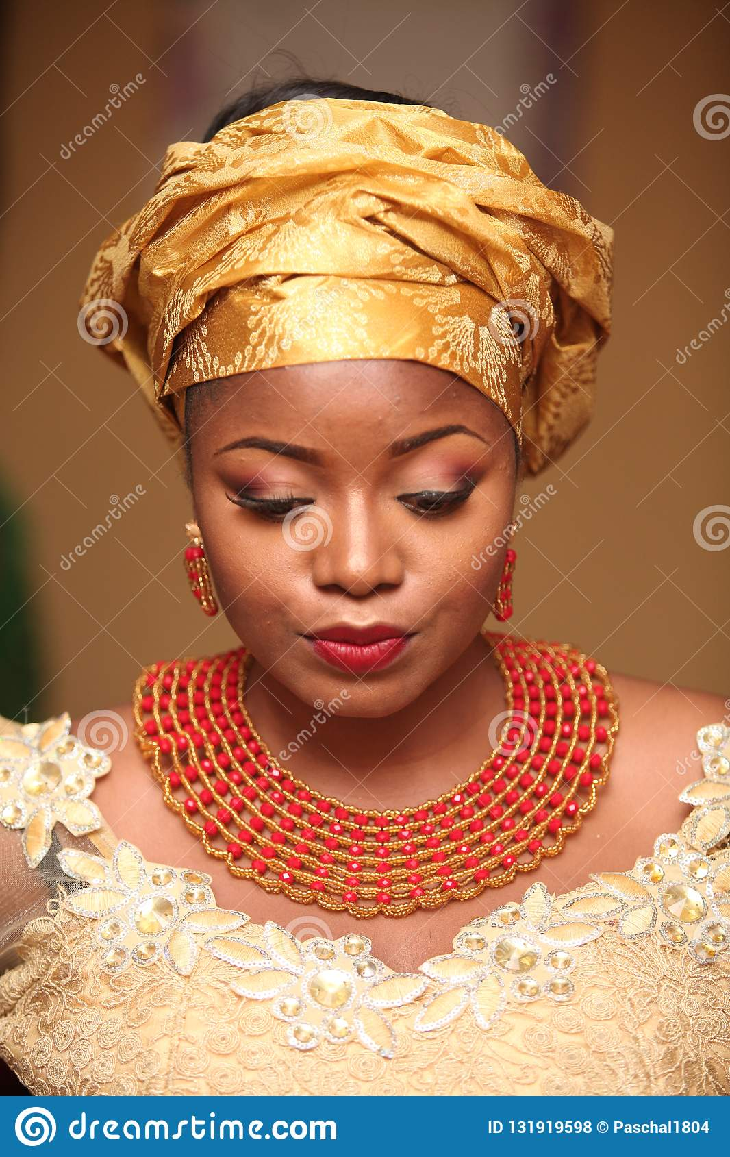 African Traditional Wedding 129 Stock Photo Image Of Marriage