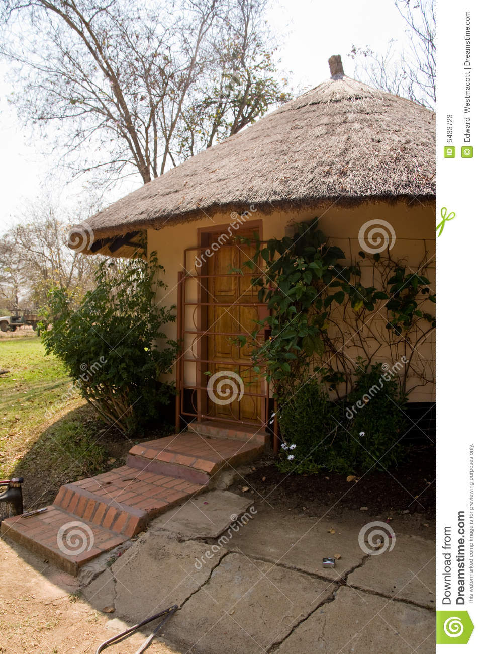 African tribal hut royalty free stock photo for Best tribal house