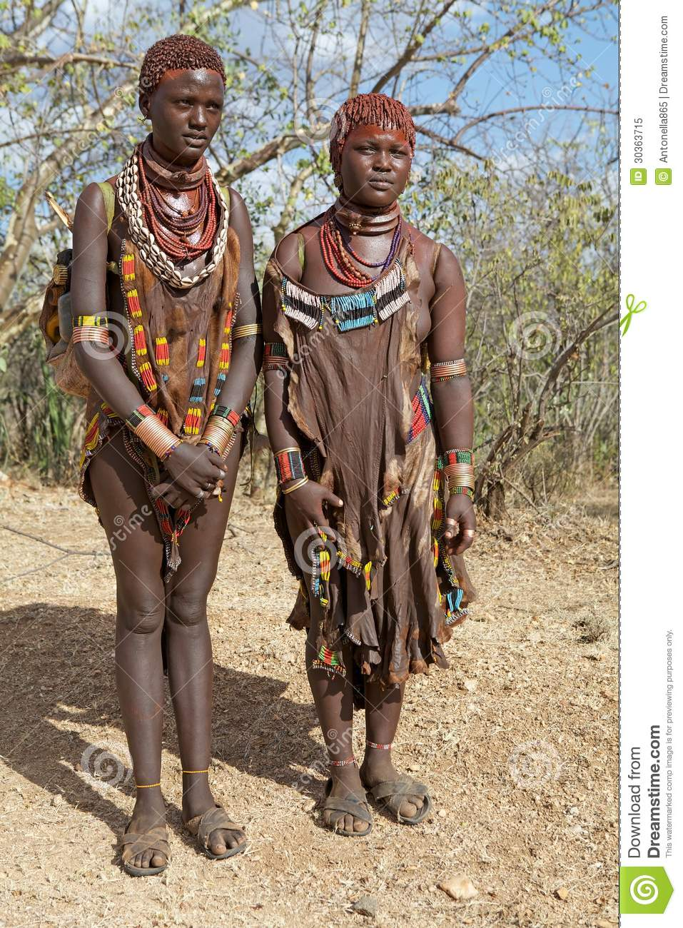 tribe woman African
