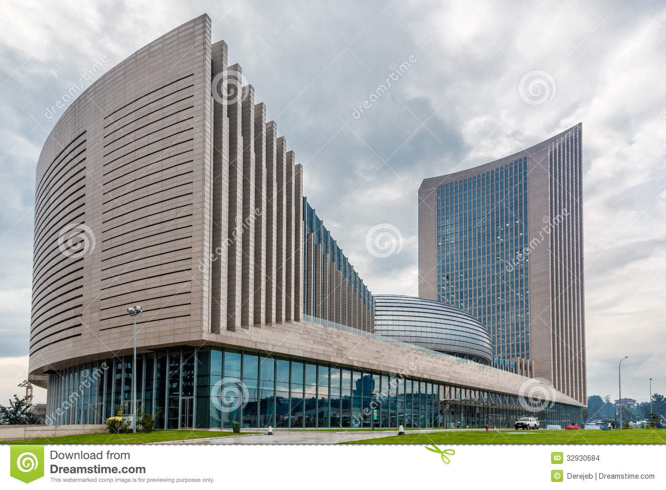 ... Union Commission headquarters building in Addis Ababa, Ethiopia