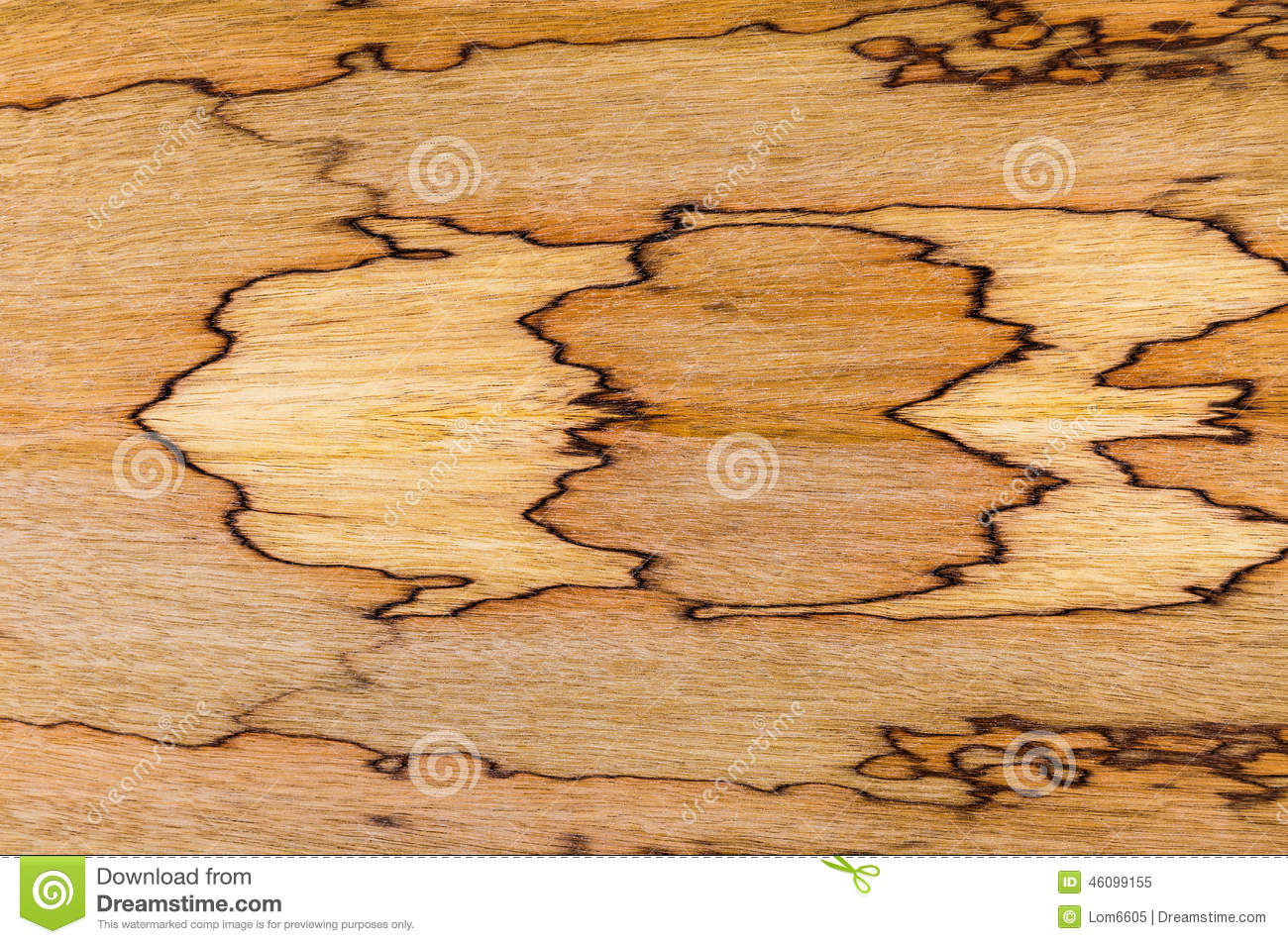 African Walnut Natural Wood Texture Stock Photo - Image ...