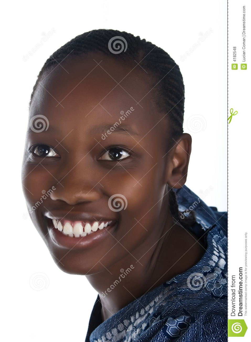 African Woman Royalty Free Stock Photos - Image: 4182548