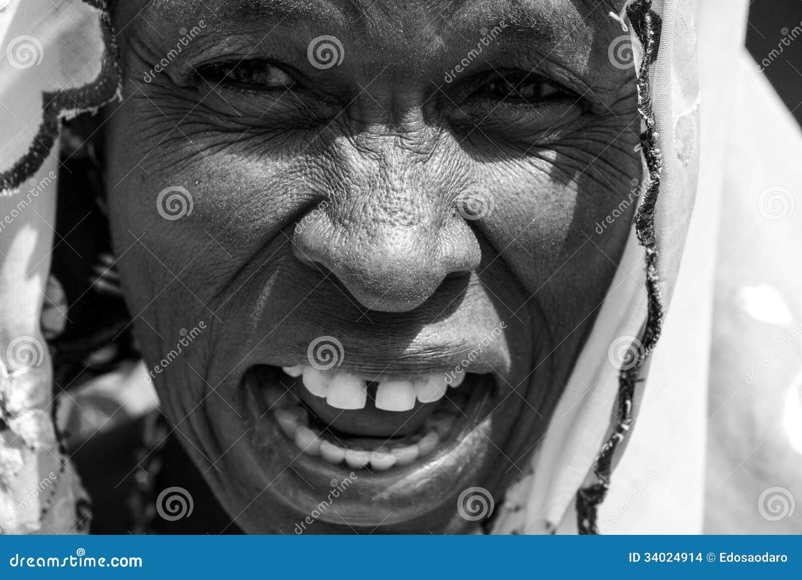 African Arab Woman