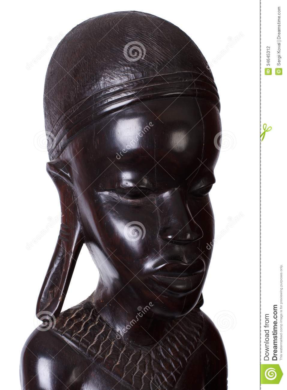 Ebony Wood Carvings 117