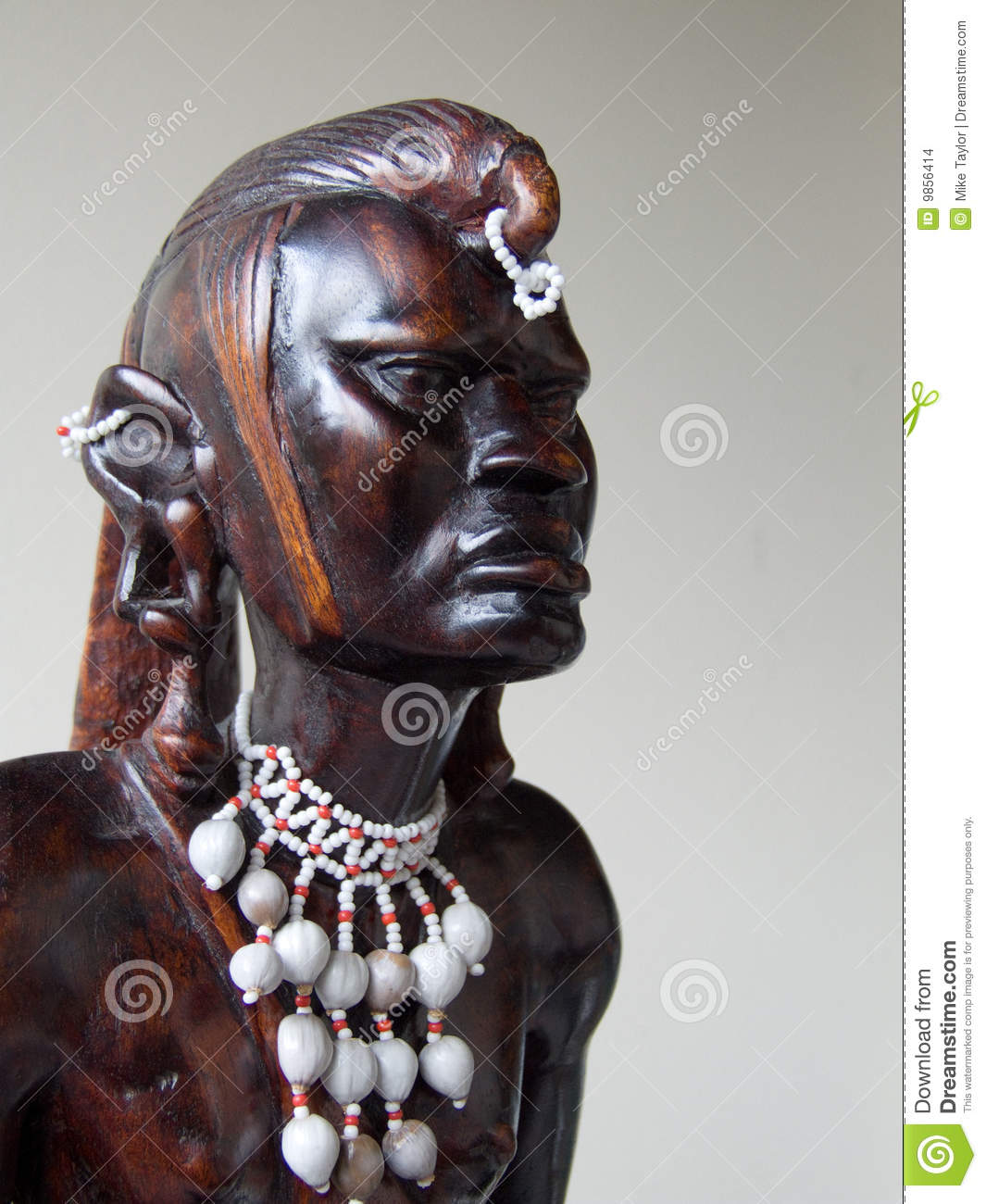 African Wood Carving Stock Photo Image Of Kenyan African