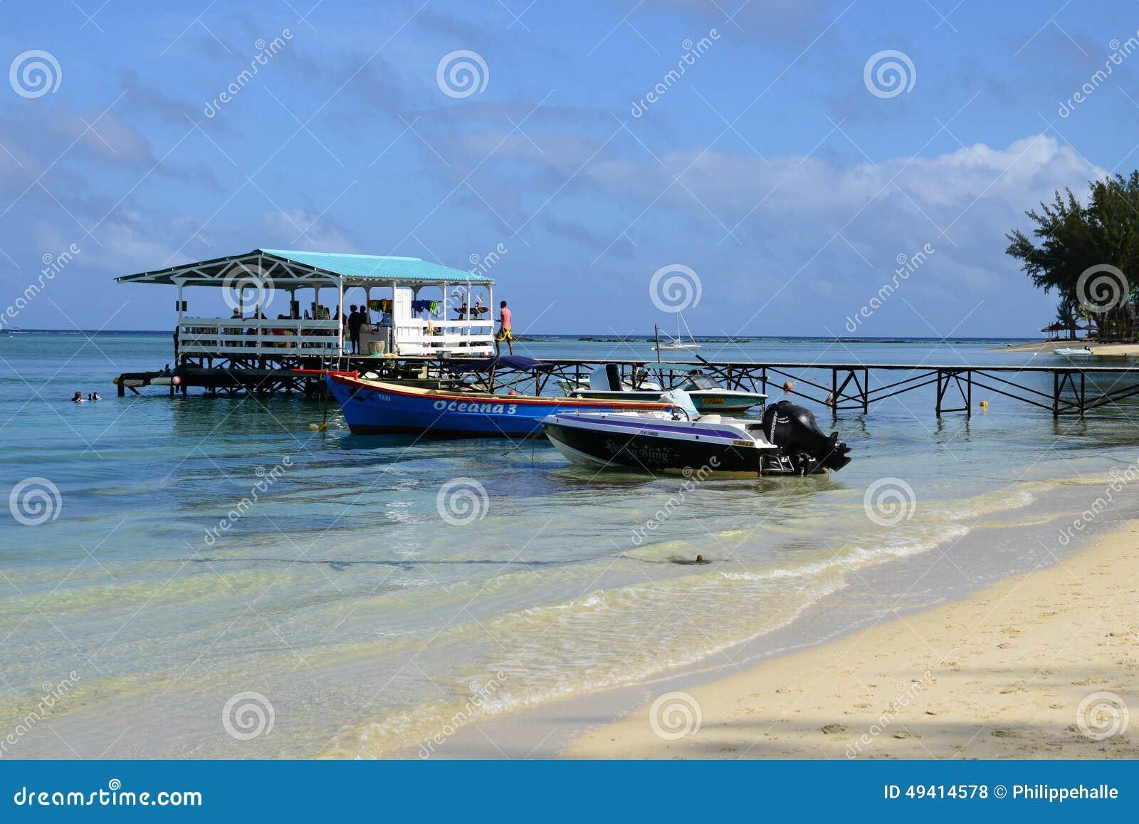 Download Afrika, Malerischer Bereich Von La Pointe Zusatz-Canonniers In Mauritiu Redaktionelles Stockfoto - Bild von strand, afrika: 49414578