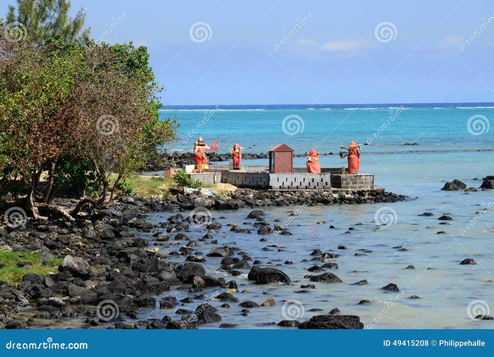 Download Afrika, Malerischer Bereich Von La Pointe Zusatz-Canonniers In Mauritiu Redaktionelles Stockfoto - Bild von außen, indisch: 49415208