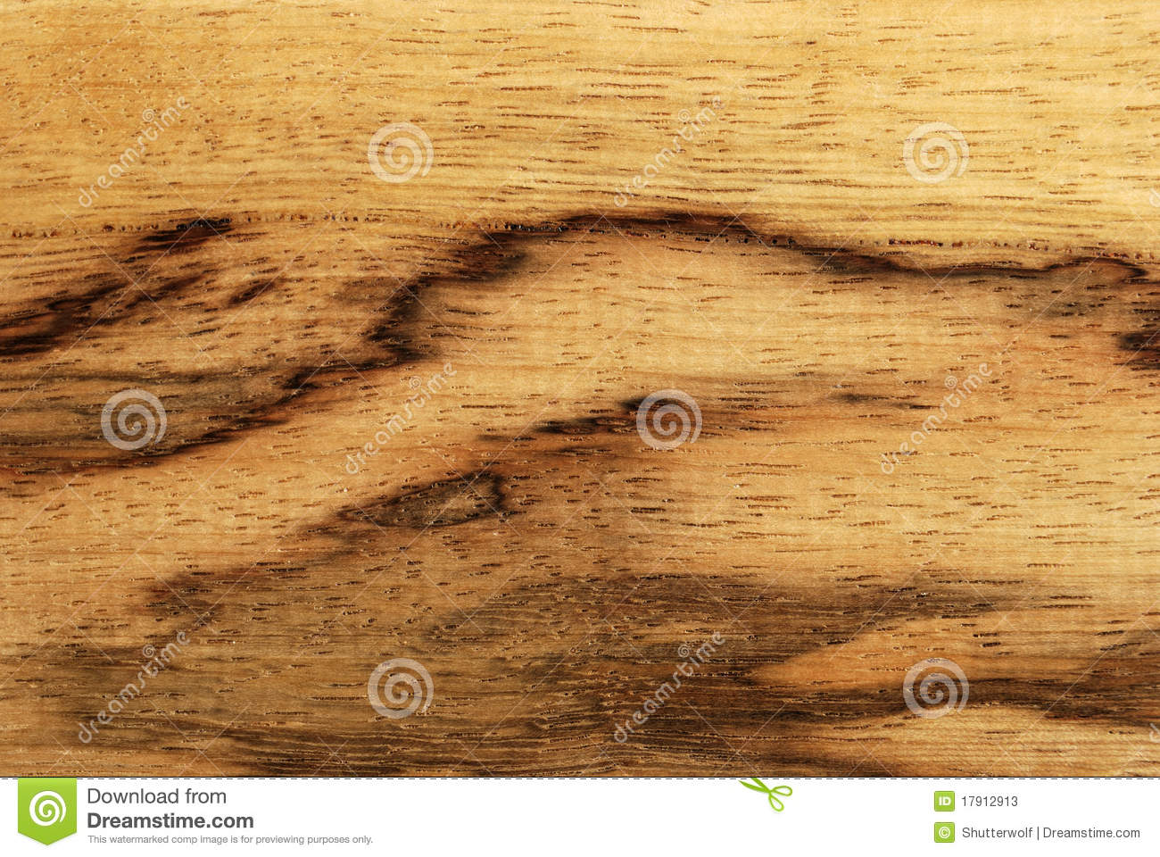 Afrikaan spalted hout (limba)