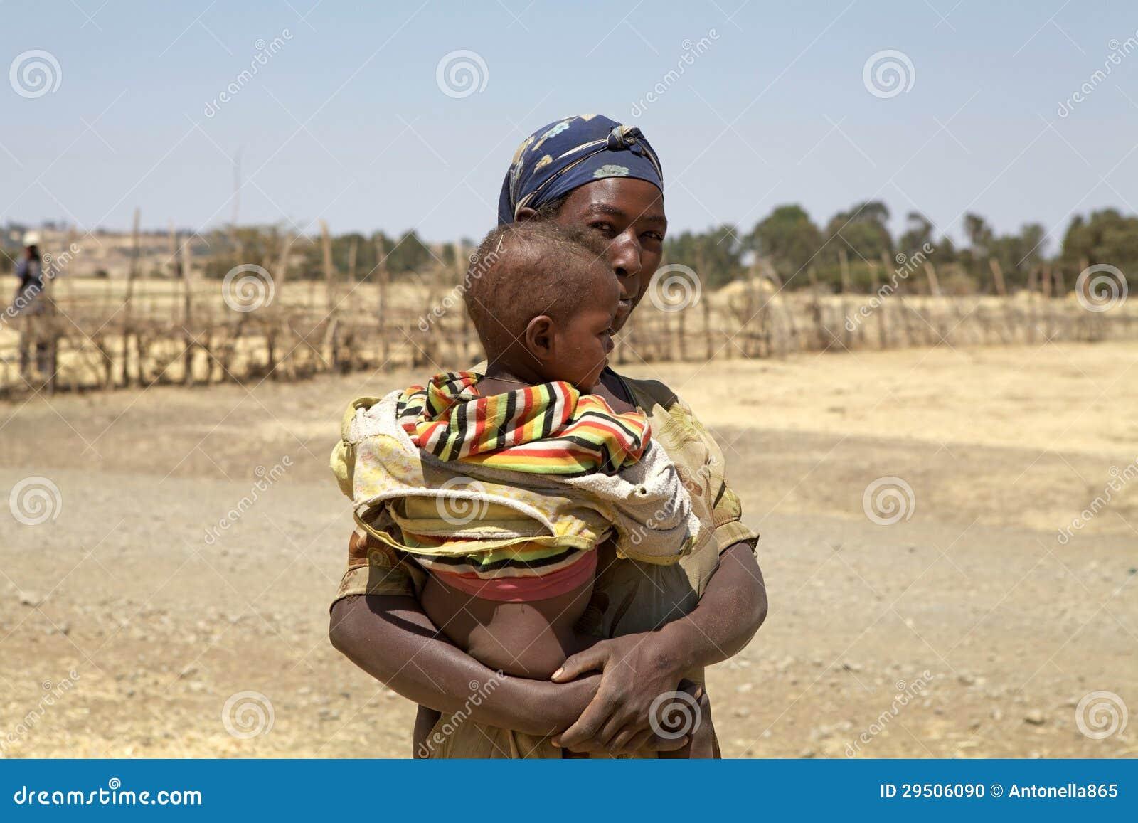 Afrikaans moeder en kind
