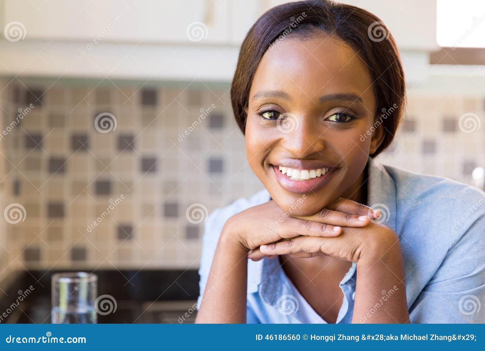 Afrikaans vrouwenportret