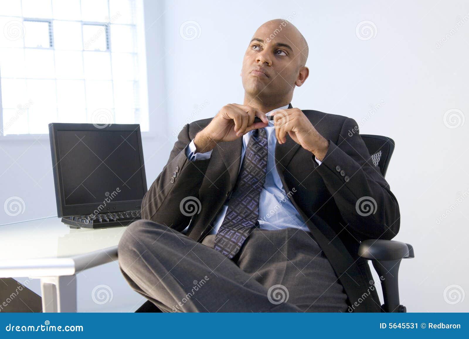 Afrikaanse Amerikaanse zakenman