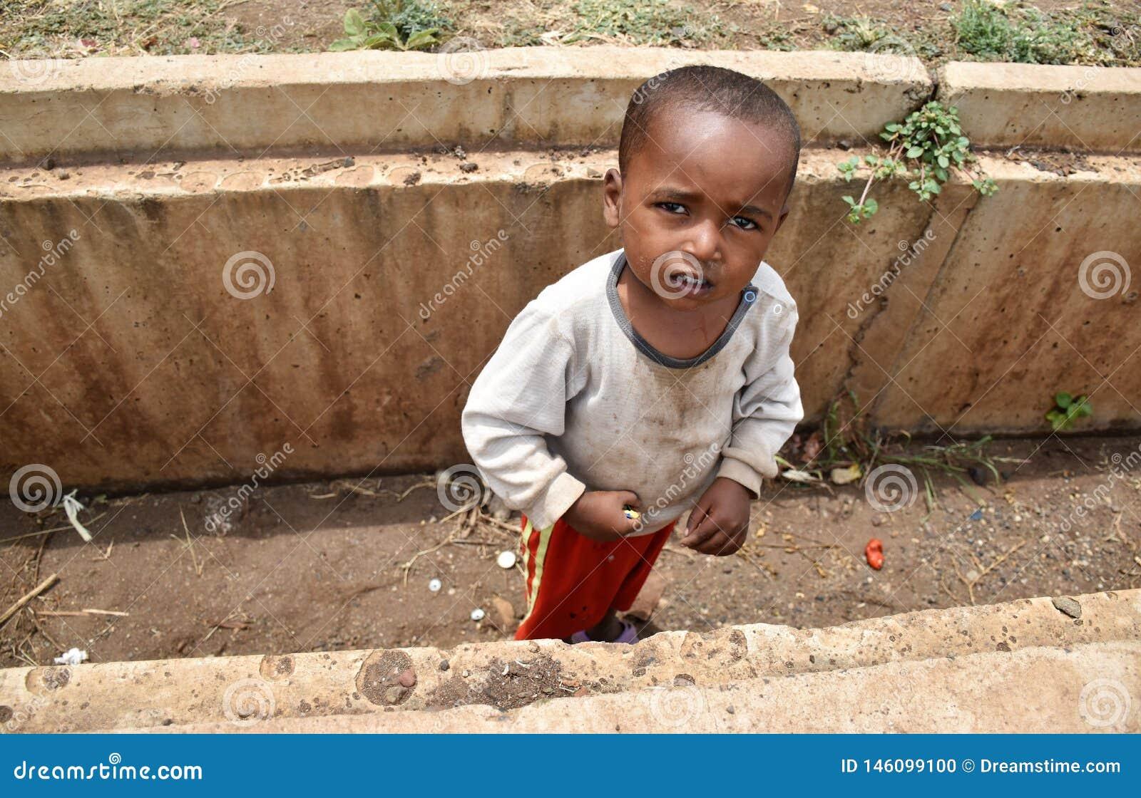 Afrikaanse babyjongen